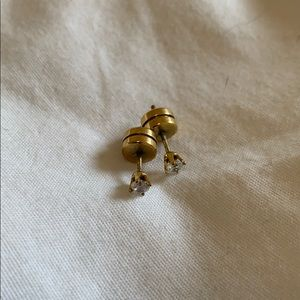 Bagatiba gold plated studs